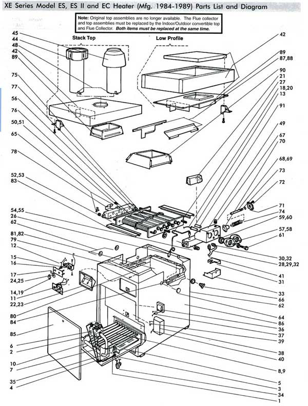 wiring diagram jandy laars heater