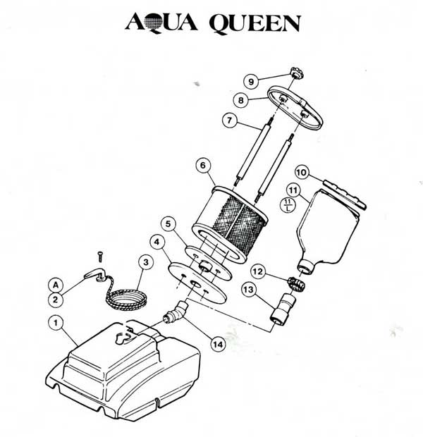 Filter Queen Parts Diagram