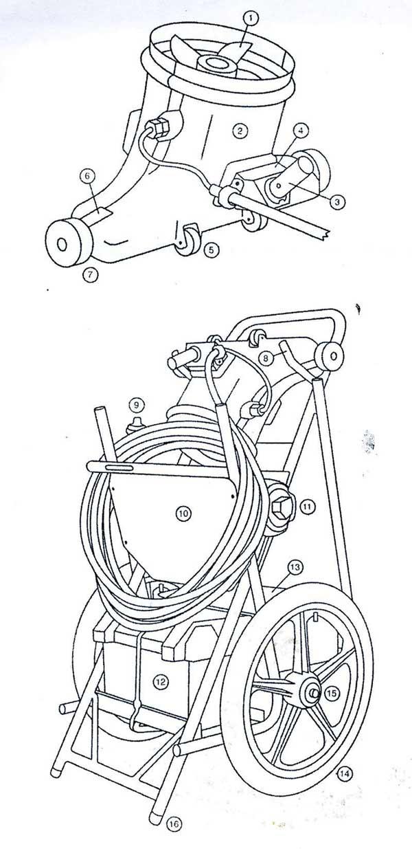 Hammerhead Go Kart Parts Diagram