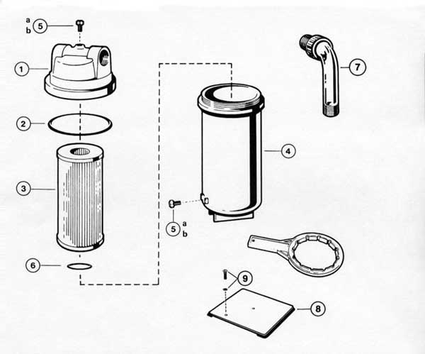 Hayward Micro Star Clear Filter Parts Diagram