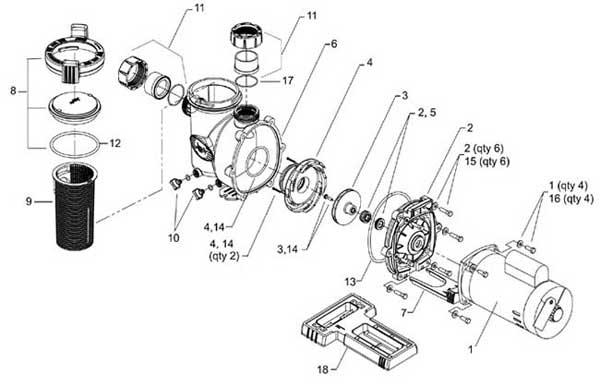 jandy fhpm flopro pool pumps pool pump diagram pool pool pump wiring diagrams with timing light