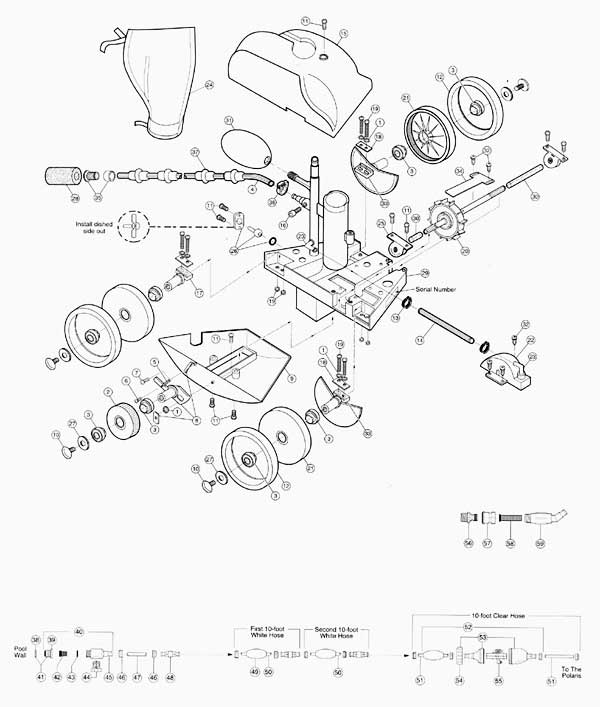 polaris 180 parts diagram