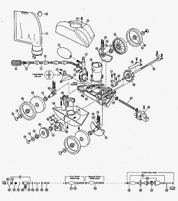 Polaris 280 Parts Diagram | My Pool
