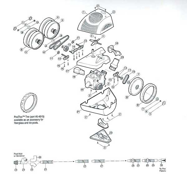 Polaris 340 Parts Diagram