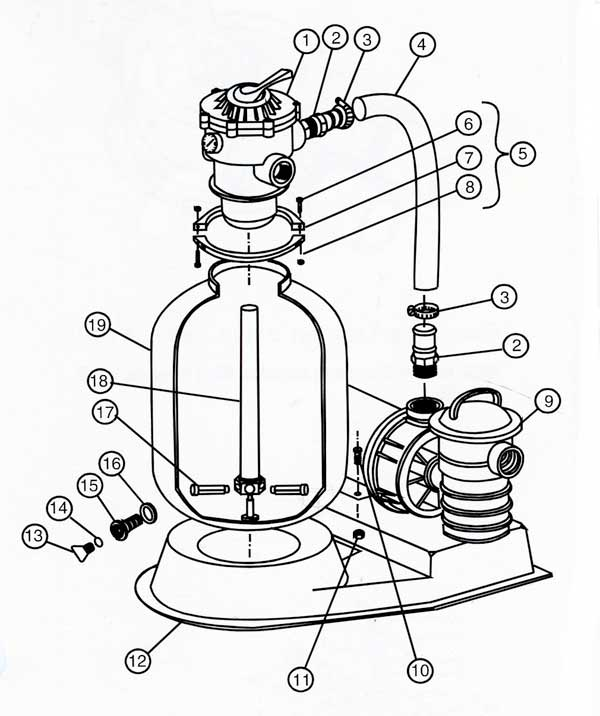 purex sand dollar sand filter system