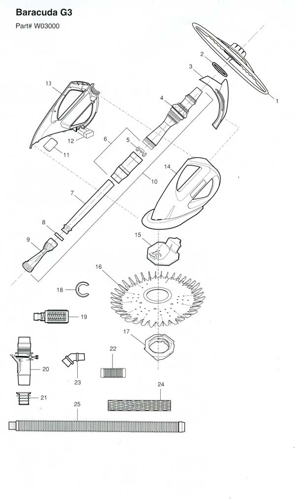 Baracuda G3 Parts Diagram