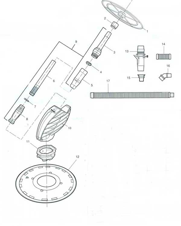 Zodiac Ranger Pool Cleaner Parts Diagram