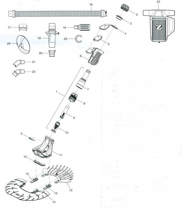 Zodiac T5 Duo Pool Parts Parts Diagram