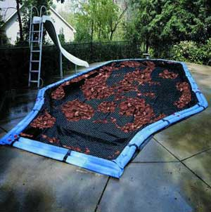 Swimming pool covers leaf nets for How to make a pool net