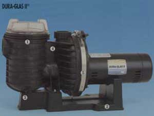Swimming pool pumps sta rite dura glas ii pool pump for Sta rite pool pump motors